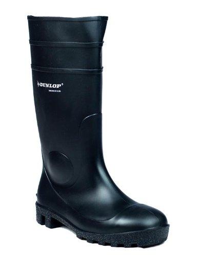 New Dunlop fs1600/142pp adultos PVC zapatero rígida de silicona y TPU para y punta de acero pares de seguridad