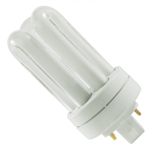 GE 34387 - F13TBX/SPX41/A/4 - 13 Watt CFL Light Bulb - Compact Fluorescent - 4 Pin GX24q-1 Base - 4100K -