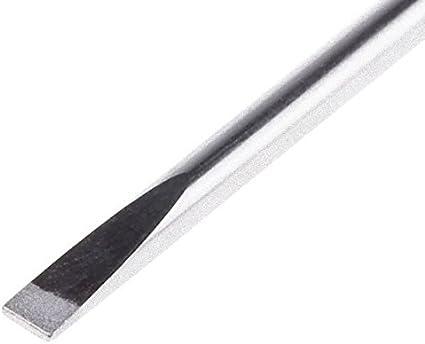 Parallelspitze 2,5 mm, 50 mm Schwertl/änge, Chrom-Vanadium, Soft-Grip 0-65-006 Stanley FatMax Schraubendreher Schlitz