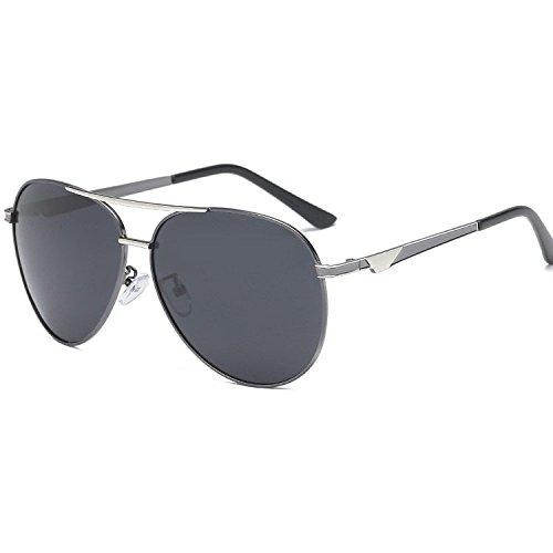 gafas polarizado de electrochapado hombre de Doble Aoligei de sol color gafas sol sol C gafas de conductor de w7g6q0xn4q
