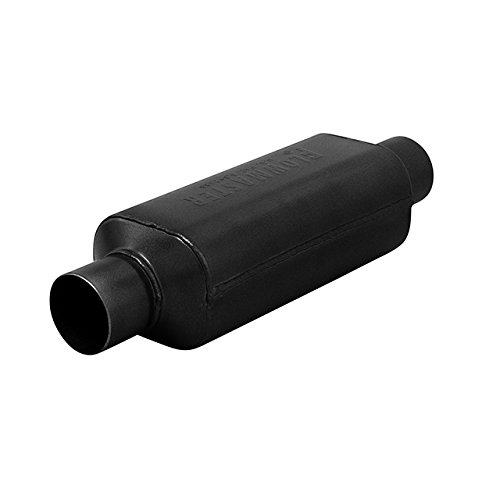 Flowmaster 12412409 (HP-2) 2.25' Inlet x 2.25' Outlet 409S Muffler with Aggressive Sound