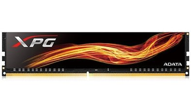 ADATA XPG Flame DDR4 8GB 2400MHz CL16 PC4-19200 U-DIMM Single Pack PC Memory (AX4U240038G16-SBF)