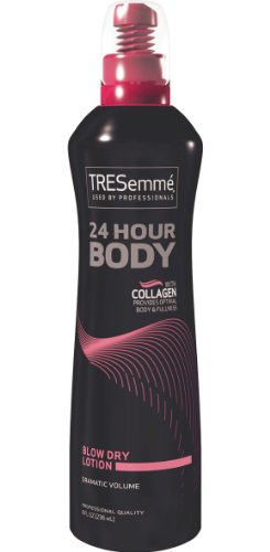 TRESemme Blow Dry 24 Hour Body Lotion, 8 Fluid Ounce (Pack of 2) (Tresemme 24 Hour Mousse)