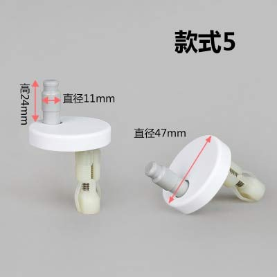 Ochoos Toilet seat Toilet Cover Screw Connector Toilet seat Accessories - (Color: G) by Ochoos (Image #2)