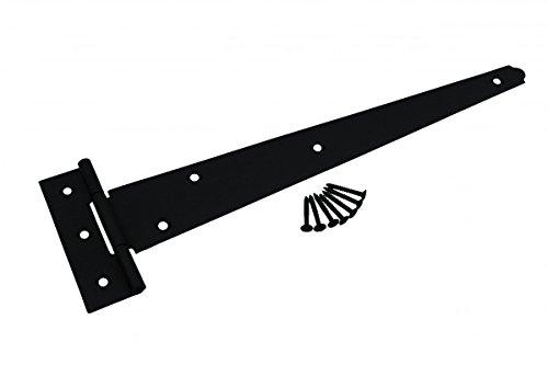 Light Duty T Hinge (T Tee Strap Black Stamped Malleable Iron Door Hinge 13