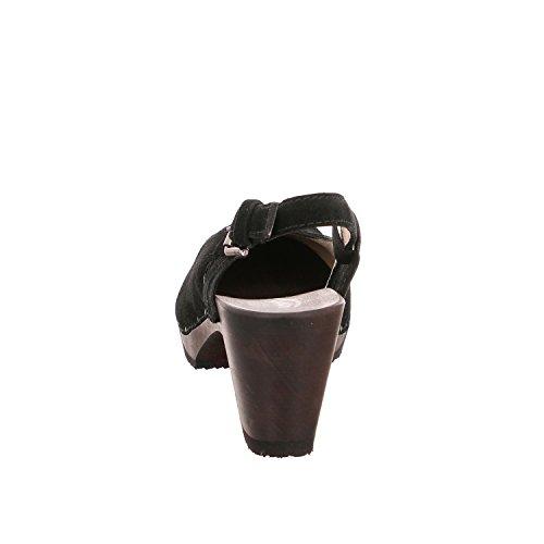 Softclox S3210-33 - Zuecos de Piel para mujer Atlantic