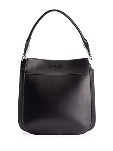 Luxury Fashion | Prada Womens 1BC101VOON2AIXF0002 Black Tote | Fall Winter 19