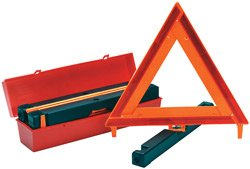Highway Triangle (James King 1005 Highway Safety Warning Triangles Kit of 3 with Case)