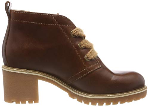 Tamaris 25236 445 Leather Cognac Botines 21 Marron Femme rrxn6Pw7qd