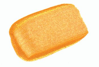 2 Oz Heavy Body Iridescent Color Acrylic Paint Color: Bright Gold (Fine)
