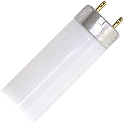 15 Watt T8 Fluorescent Tube Light Bulb Medium Bi-Pin Base 4100K Cool White 12-Pack