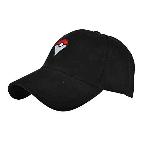 [Pikachu Faux SuedeBaseball Cap Embroider HatWomen Men Snapback Adjustable Sport Outdoor Gorras] (Blues Brothers Hat)