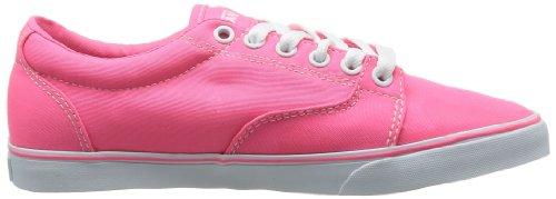 Vans W Kress - Zapatillas de deporte de tela para mujer Rosa - Rose (Canvas Neon P)