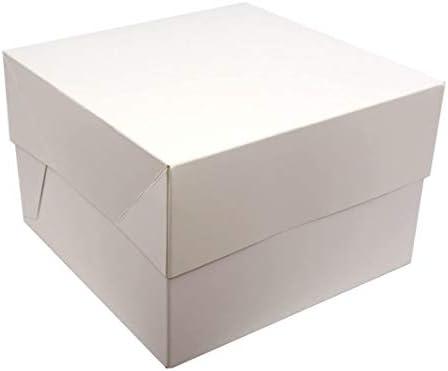 Cajas para pasteles. Cuadradas. Blancas. Paquete de 5. ¡Ideales ...