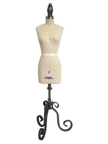 Professional Miniature Half Scale Dress Form Mannequin Half Scale Sizes 0/2-10 (8)