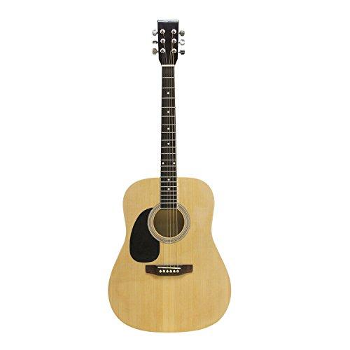 Flanger FG-2291 Left-Handed Dreadnought Acoustic Guitar, Natural