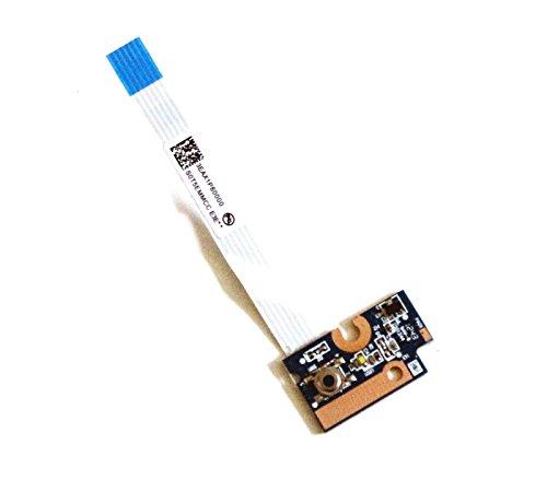 Compaq Button Board Power (Power Button Board with Cable Compatible HP G56 G62 G72 Compaq Presario CQ62 CQ56 CQ42 4EAX1PB0000 DA0AX1PB6E0 595204-001)