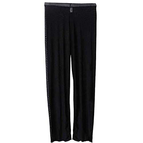 fd8c5dbf458ff BlueSpace Men s Pajamas Mesh Translucent Low Rise Pants Lightweight Lounge  Pant