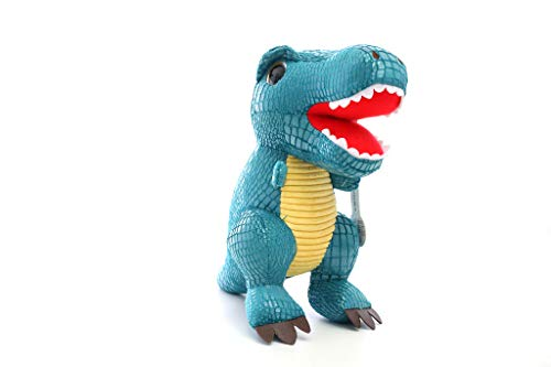 Realistic Cute Dinosaur Stuffed Animal - Soft Plush Toys for All Ages - Great for Nursery, Room Decor, Bed - Blue- Measures 10 -