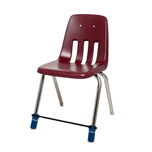 Original Bouncy Bands for Middle and High School Chairs - Allows Students to Move While Working, Increasing Focus, Improving Academic Performance and Relieving Anxiety, Hyperactivity, Frustration and