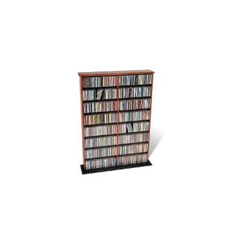 Prepac Cherry Double Width Wall Media (DVDCDGames) Storage Rack  sc 1 st  Amazon.com & Amazon.com: Prepac Cherry Double Width Wall Media (DVDCDGames ...