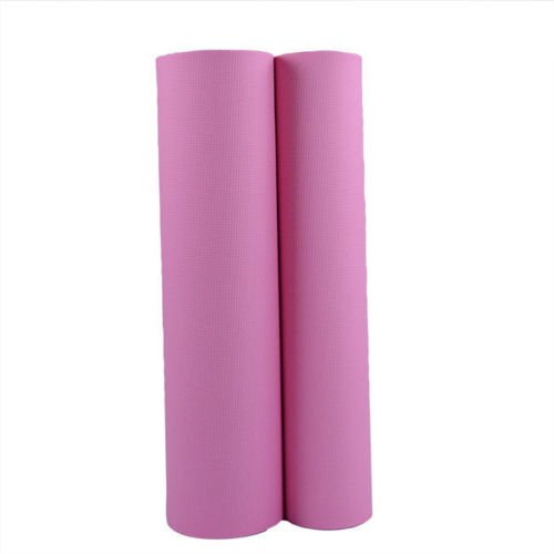 6mm Thick Exercise & Fitness Non-Slip Pink Yoga Mat Lose Weight Meditation Pad Goods Shop