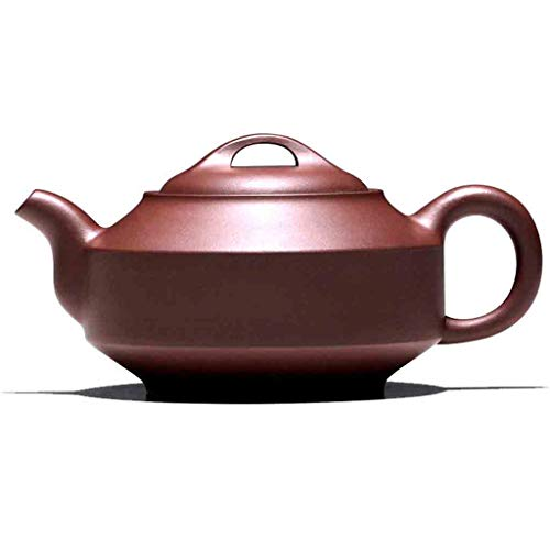 Tea Cozies Pure Handmade teapot Large Capacity Kung Fu Tea Set Tao Jian Hanjun Pot (Color : Brown, Size : 15.29.58cm) by Tea Cozies (Image #7)