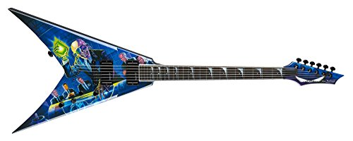 Dean V Dave Mustaine Guitar, Rust In Peace with Case ()