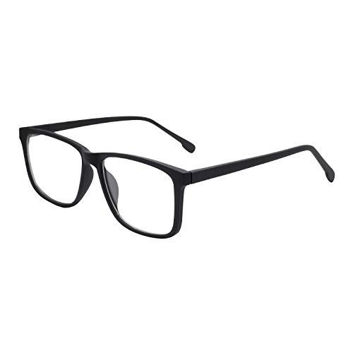 OCCI CHIARI Non-Prescription Eyewear Frame Computer Eyeglasses Men Optical Glasses Blue Light Blocking Game (Glasses Men Prescription)
