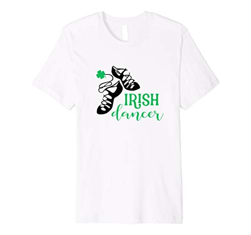 Girls Irish Dancer T Shirt Irish Dance Girl Dancing ()