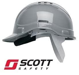 Scott Protector Style 300 casco de seguridad con ventilación - gris: Amazon.es: Industria, empresas y ciencia
