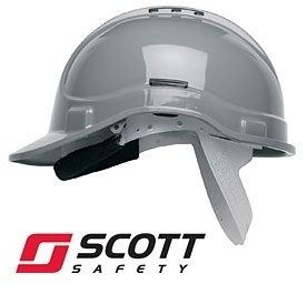 Scott Protector Style 300 casco de seguridad con ventilación - gris