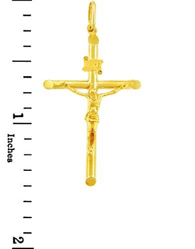 10 ct 471/1000 Or Croix et Crucifix - Plus Petit Or Crucifix- Pendentif