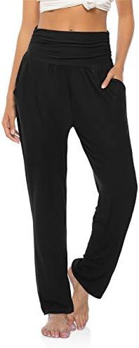 OYANUS Womens Yoga Sweatpants Wide Leg Loose Comfy Lounge Pants Workout Joggers Pants with Pockets 2