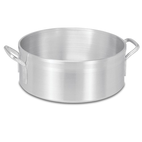 Vollrath 68215 Wear-Ever Classic Select 15 Quart Aluminum Brazier by Vollrath