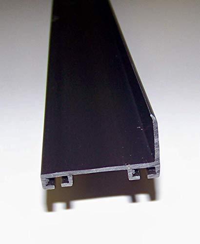 - Garage Door Weather Seal Retainer - L Shape, Size: 1'' x 1-3/4'' PVC, Length: Single 55
