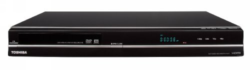 - Toshiba DR570 DVD Recorder/Player - Black (2009 Model)