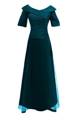 scuro maniche Donna lunghe da Blu stile in Sunvary cinese sera a vwZnqAxfU5