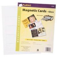 100 Magnet Business Cards Inkjet Gloss - Cards Business Inkjet Magnetic
