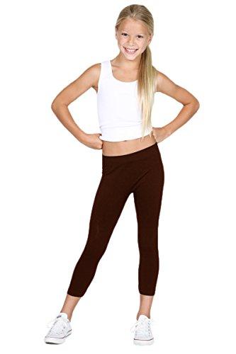 Sugarlips Girl's Leggings, Deep Chocolate