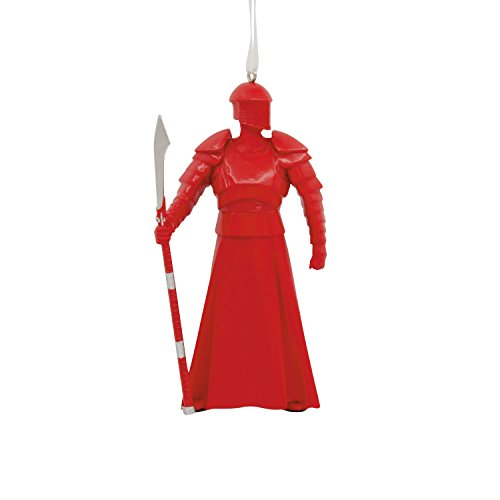 Star Wars Holiday Ornament - 2017 Star Wars RED GUARD Christmas Holiday Ornament