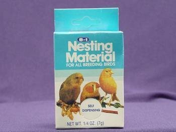 8 In 1 Pet Products BEOC394 6-Pack Natural Cotton Fiber Bird Nesting Material, 0.25-Ounce, My Pet Supplies