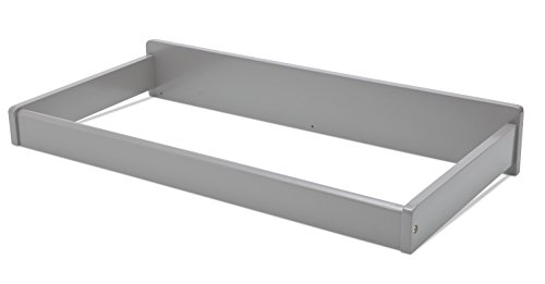 Serta Changing Top, Grey - Tray Top Removeable