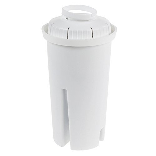 Filtro acqua a cartuccia universale compatibile con caraffa brita classic da 1 litro - 18 pezzi Qualtex