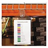 - Magnetic Hanging Shop Ticket Holders, Clear, 9 x 6, 15/Box by MOT5