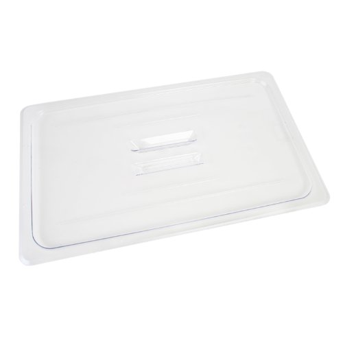 Polycarbonate Solid Food Pan Covers - Excellante 849851006584 Solid Cover for Polycarbonate Food Pan, Full Size