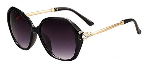 Wicemoon playa colores cristales gafas o playa de con 5 sol espejo 2 para diarias UV para sol de de mujer de protección Gafas diamante gafas vacaciones de qwCaprq