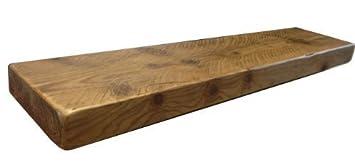 kowoodworks estanterias flotantes madera rstica personalizadas maderapino forest brown 5 feet - Madera Rustica