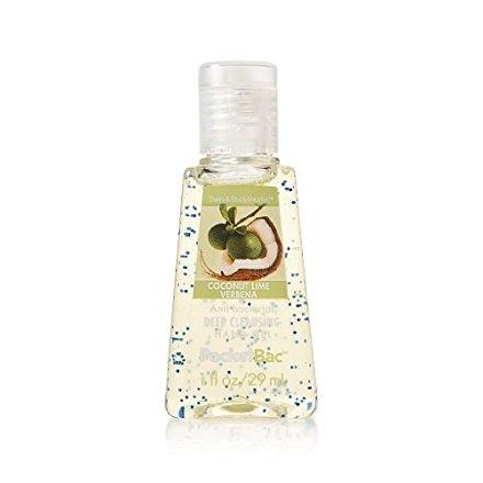Bath & Body Works Coconut Lime Verbena Anti-Bacterial PocketBac Deep Cleansing Hand Gel Deep Cleansing Hand Gel