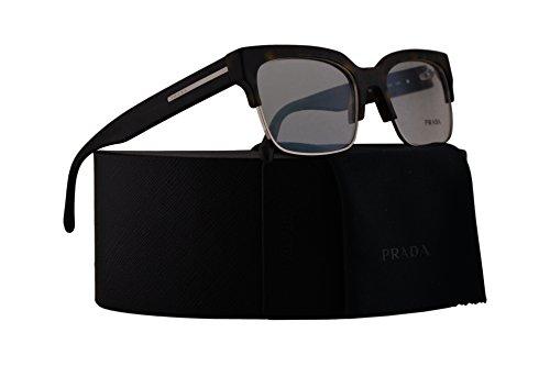 Prada PR19RV Eyeglasses 56-19-145 Matte Havana w/Demo Clear Lens HAQ1O1 VPR19R VPR19R PR - Karlie Kloss Style